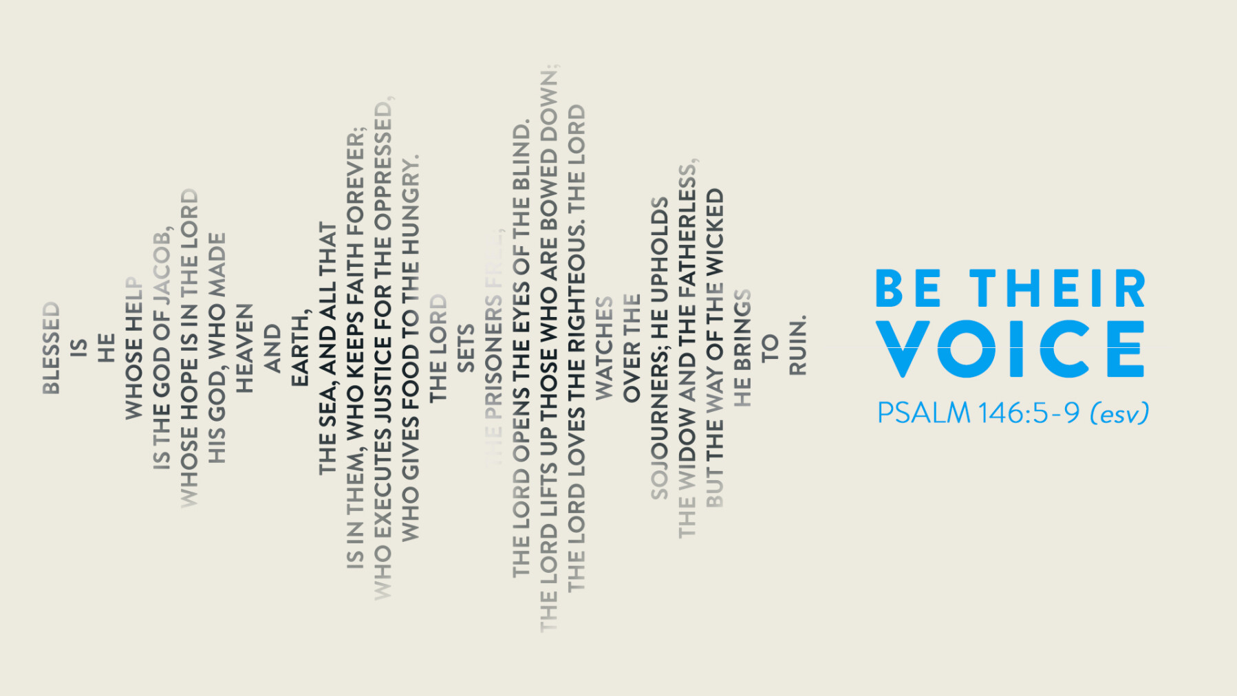 Be Their Voice