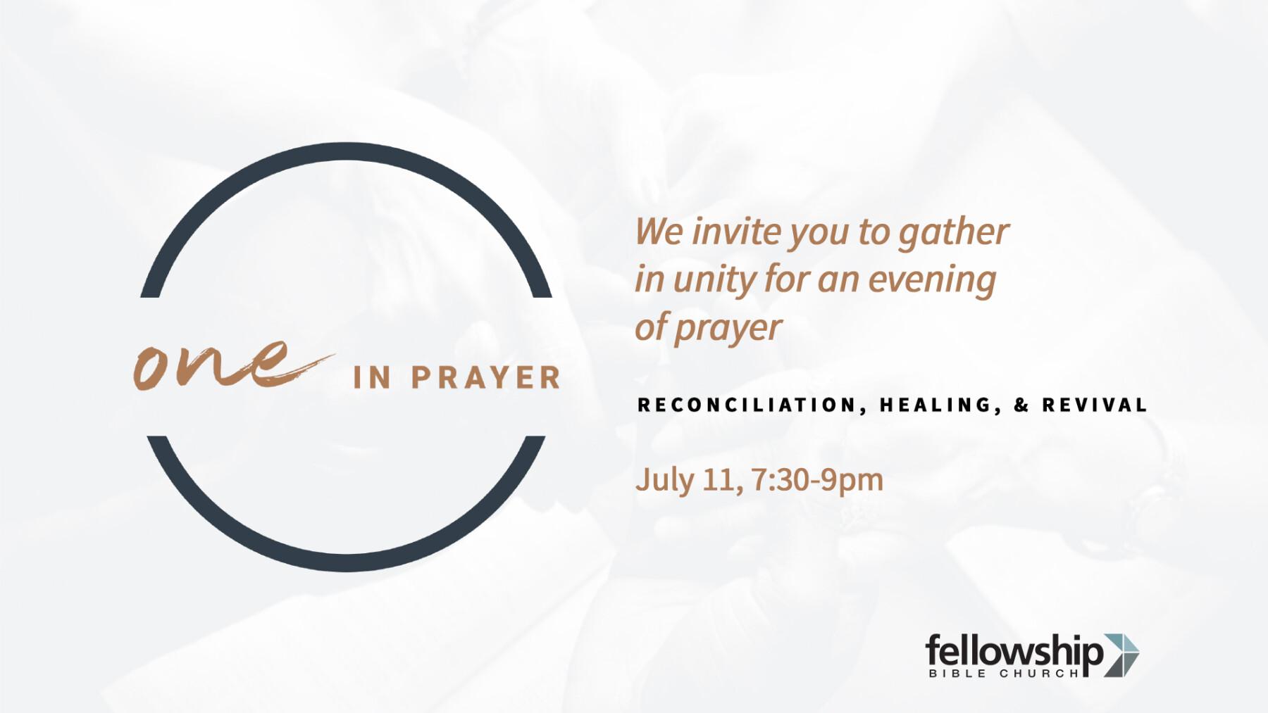 One in Prayer
