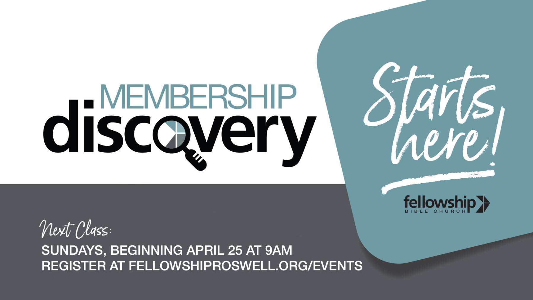 Membership Discovery Class