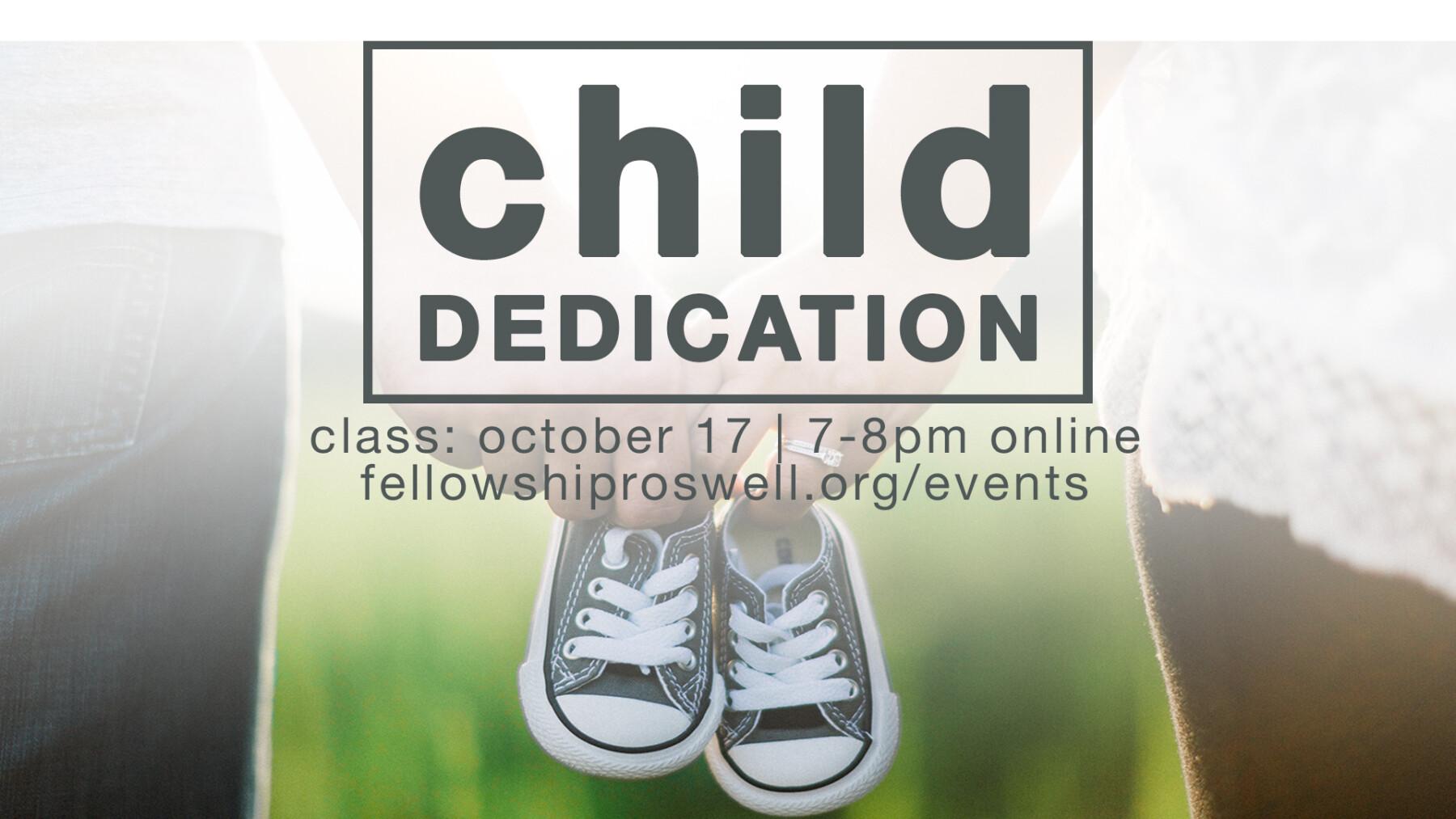 Child Dedication Service, Parent Class