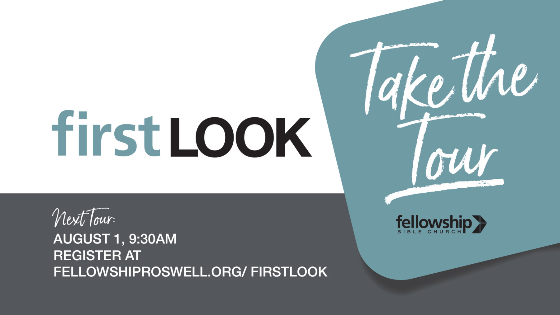 First Look: Tour of Fellowship